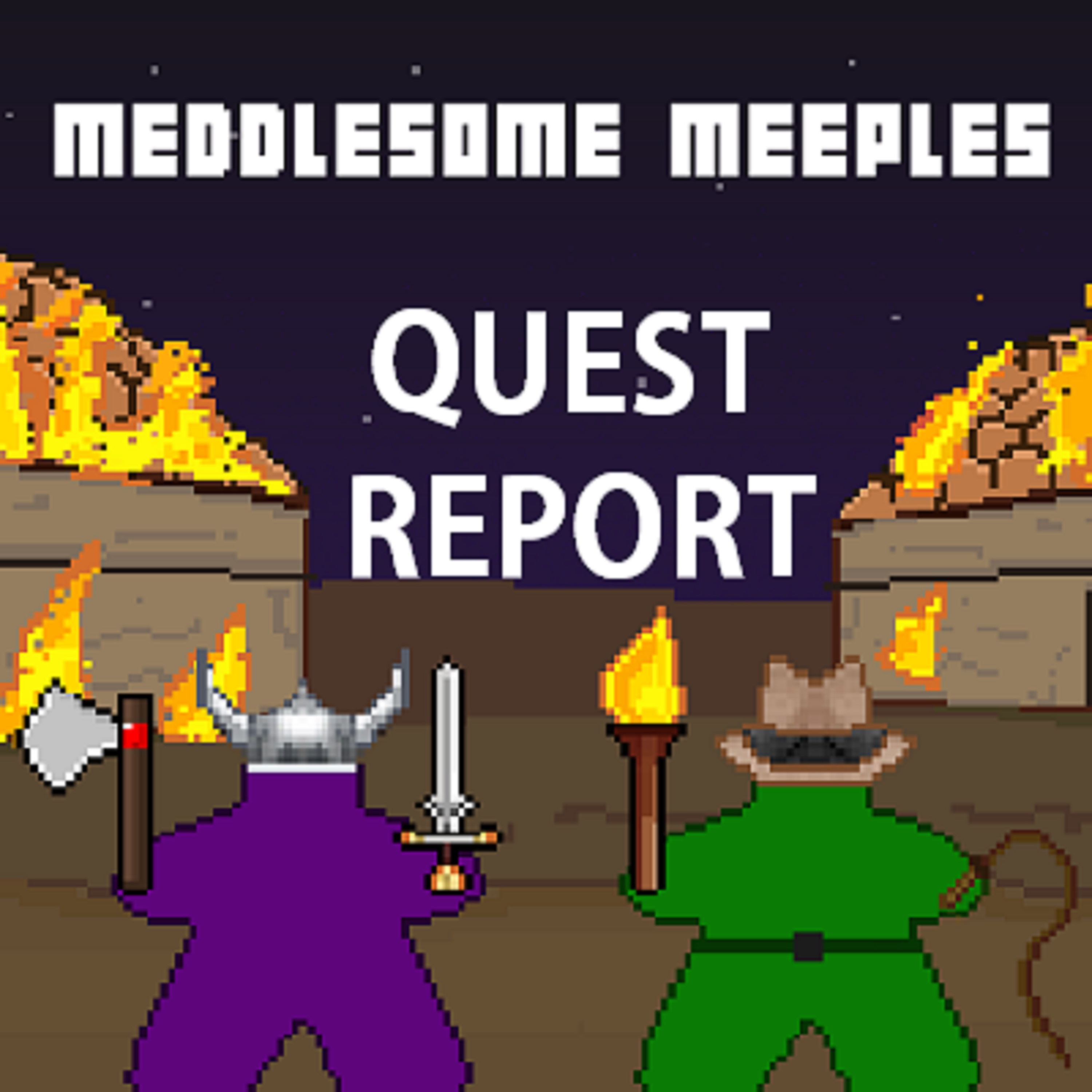 The Quest Report Board Gaming Podcast